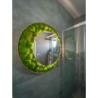Machové zrkadlo ICONIC - Design 3