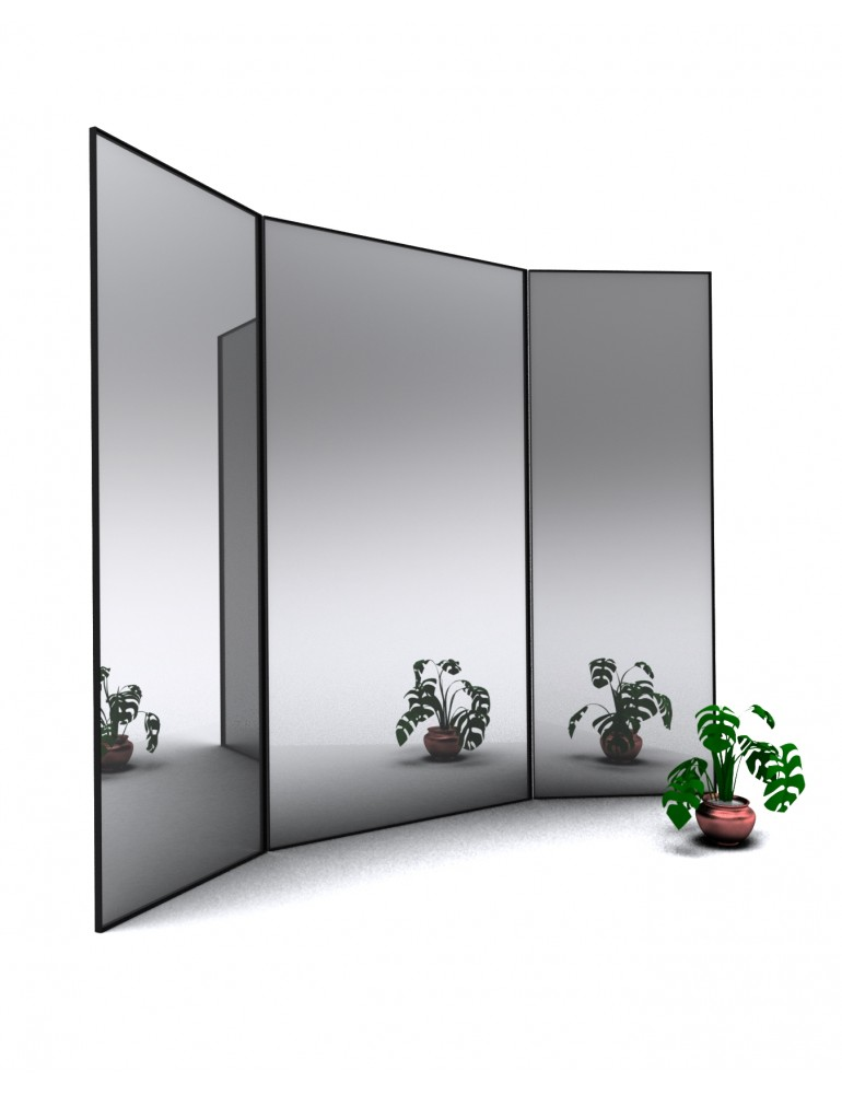 Kovové zrkadlá ICONIC
