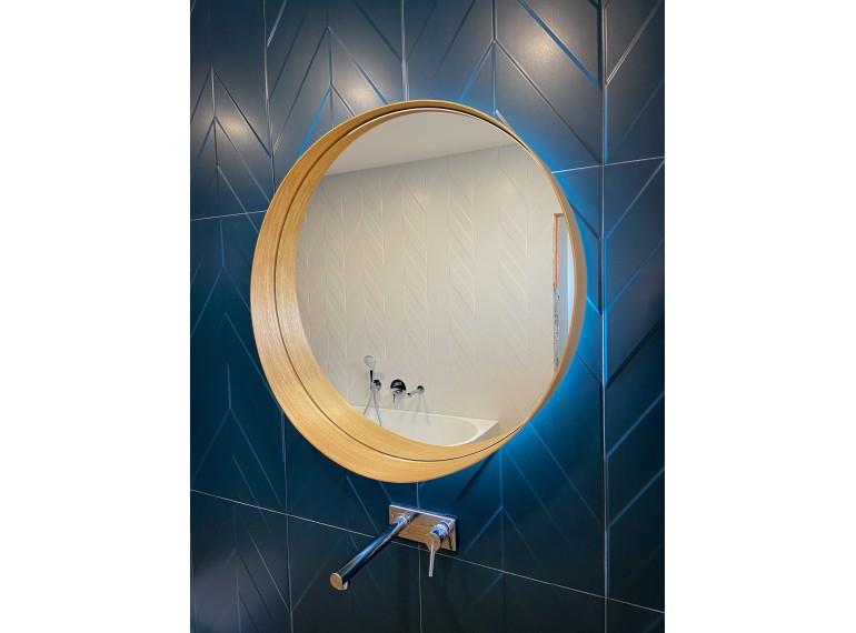 DI LUSSO okrúhle zrkadlo