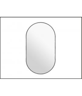 Dub Rusticana oválne zrkadlo s podsvietením