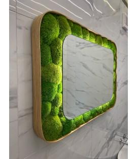 Machové zrkadlo ICONIC - Design 2