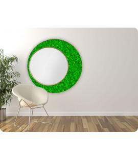 Machové zrkadlo ICONIC Lišajník Green