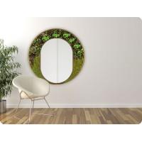 Machové zrkadlo ICONIC LUX Rastliny