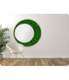 Machové zrkadlo ICONIC Lišajník Moss green