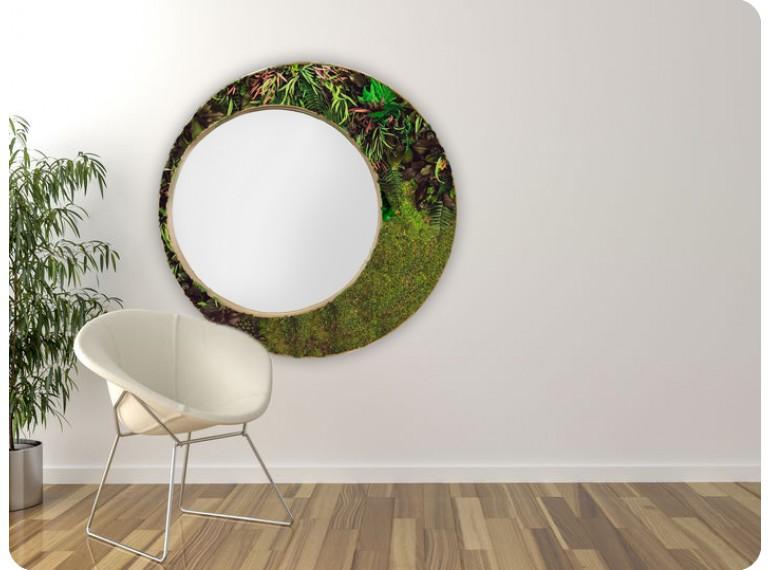Machové zrkadlo ICONIC Rastliny