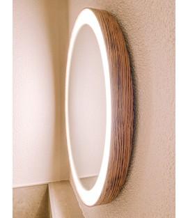 Okrúhle zrkadlo s integrovaným svietením - DREVODEKORY