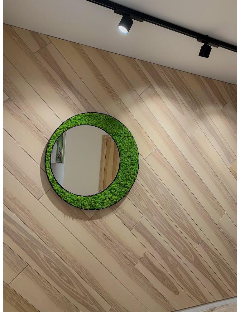 Machové zrkadlo ICONIC Lišajník Springreen