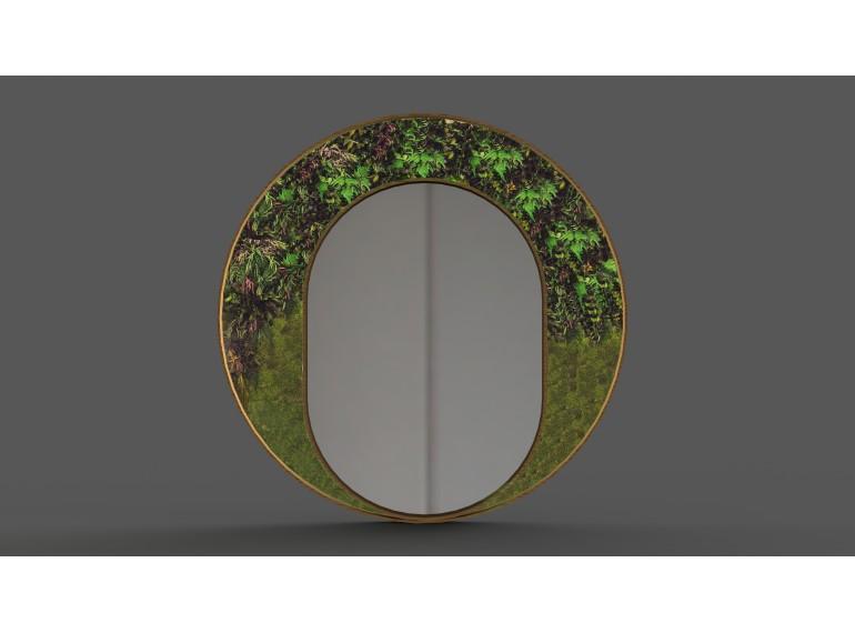 Machové zrkadlo Rastliny